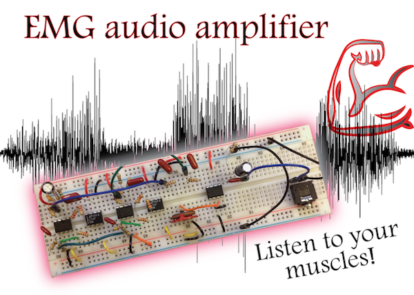 EMG audio amplifier